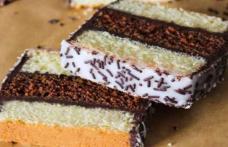 Prăjitură Napolitană în două culori