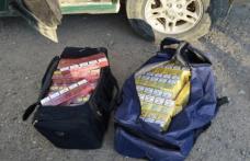 Bătrână prinsă în timp ce comercializa țigări de contrabandă în Piața Centrală