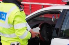Șofer beat și fără permis prins de polițiști la volanul unui BMW