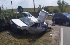 Accident GRAV! Două persoane rănite salvate de comandantul ISU Dorohoi