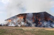 Pompierii luptă de mai mult de 24 de ore cu incendiul izbucnit la un depozit de furaje din Ripiceni