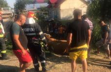 """Intervenţie cu """"greutate"""" a pompierilor din Dorohoi - FOTO"""