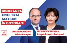 PSD Botoșani depune astăzi dosarele de candidatură pentru Consiliul Județean și Primăria Municipiului Botoșani