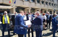 Organizația PNL Botoșani și-a depus candidaturile pentru alegerile locale - FOTO