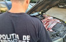 BMW blindat cu ţigări de contrabandă depistat în trafic - FOTO