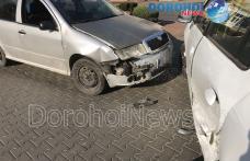 Accident cu două autoturisme la Dorohoi. O femeie însărcinată a ajuns la spital - FOTO