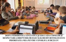 """Doina Federovici: """"Profesorii și elevii din Botoșani au fost prea mult ignorați și jigniți de Guvernul Orban! Respectarea drepturilor și sănătății ace"""