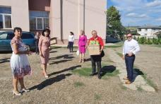 10.000 de măști și dezinfectant pentru mai multe școli din municipiul și județul Botoșani, donate de PSD în lipsa materialelor sanitare de la Guvernul