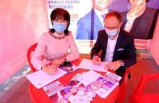 100.000 de cetățeni au semnat pentru proiectele de dezvoltare ale municipiului și județului Botoșani inițiate de Doina Federovici și Cosmin Andrei - F