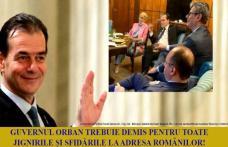 Toți parlamentarii PSD Botoșani votează moțiunea de cenzură pentru demiterea Guvernului Orban