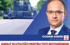 """Cosmin Andrei: Am pregătit programul: """"La periferie, la fel ca în centru"""", asfaltare și racordare la utilități a zonelor de la marginea Botoșaniului"""