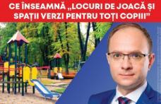 """Cosmin Andrei: Am pregătit pentru familiile din Botoșani, Programul """"LOCURI DE JOACĂ ȘI SPAȚII VERZI PENTRU TOȚII COPIII"""""""