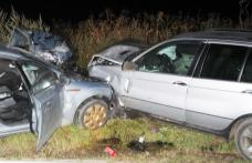 Accident pe drumul Dorohoi – Darabani! Două autoturisme s-au ciocnit frontal - FOTO