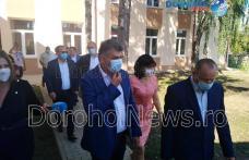 Președintele PSD, Marcel Ciolacu, a vizitat școala și grădinița din Șendriceni - FOTO