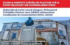 Cum a mințit Cătălin Flutur că a fost blocat de consilierii PSD