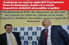 Candidatul PNL pentru Consiliul Județean se opune aplicării Pachetului Firea în Botoșani, după ce a votat împotriva dublării alocațiilor copiilor