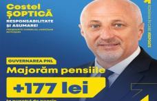 PNL Botoșani: Pensionarii botoșăneni primesc pensii majorate