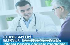 Constantin Bursuc candidat independent: Mesaj pentru cadrele medicale