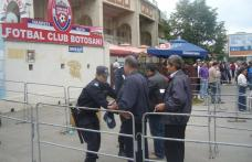 Sancțiuni aplicate de jandarmii botoșăneni la meciul FC Botoşani - Viitorul Constanţa