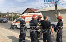 Aproape de tragedie! Bărbat din Dorohoi scos inconștient dintr-un canal - FOTO