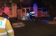 Intervenție dificilă pentru pompierii botoșăneni. Au intervenit pentru stingerea unui incendiu la un magazin