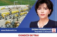 """Doina Federovici: """"La Consiliul Județean voi continua programele de asfaltări și extinderi de utilități publice inițiate de PSD pentru fiecare localit"""