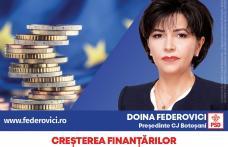 """Federovici: """"Voi aduce bani europeni pentru dezvoltarea județului Botoșani prin toate programele, inclusiv prin mecanismul ITI - Țara de Sus, Investiț"""