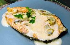 Pește cu sos de smântână