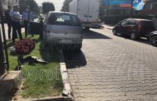 Inconștiență maximă la Dorohoi! Accident provocat de un șofer beat - FOTO