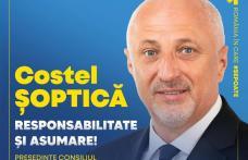 Costel Șoptică - Candidat la funcția de Președinte al Consiliului Județean Botoșani