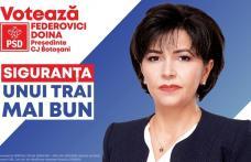 De ce să votezi Doina Federovici Președinte al Consiliului Județean Botoșani?