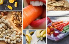 Câteva gustări sănătoase care potolesc foamea