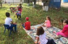 """Grădinița de vară - Atelierele de Vară """"Șotron"""" la Școala Primară """"Dumitru Pompaș"""" Balinți - FOTO"""