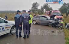 Accident grav în județul Botoșani. Un bărbat de 43 de ani a decedat