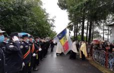 Fostul șef al ISU Botoșani, Radu Anton, înmormântat cu onoruri militare - FOTO