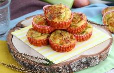 Muffins cu praz