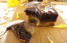 Prăjitură cu dovleac și ciocolată