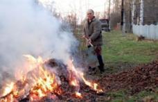 SVSU Dorohoi: Arderea vegetației uscate un pericol pentru cei din jur