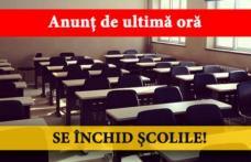 Decizie drastică luată astăzi: SE ÎNCHID toate școlile din municipiul DOROHOI