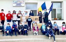 Școala din Viișoara primește ajutor de urgență pentru a avea acces la educație