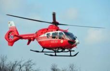 Femeie preluată de urgență de elicopterul SMURD de la Dorohoi