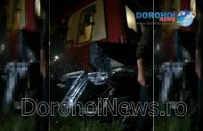 Accident feroviar! Mașină izbită în plin de trenul Dorohoi - Iași – VIDEO / FOTO