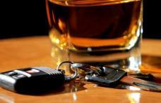 Șofer pericol public, cu o alcoolemie de 1,55 mg/l, surprins circulând pe un drum din județ