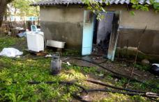 Casă distrusă de un cablu defect pus la mașina de spălat - FOTO