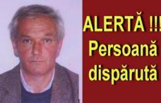 Bărbat dat dispărut după ce a plecat la serviciu și nu a mai revenit
