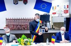 Cel mai votat dintre liberalii botoșăneni a depus jurământul de primar al comunei Ibănești - FOTO