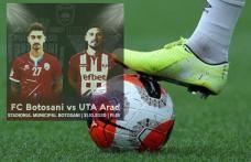 FC Botoșani joacă astăzi, pe teren propriu, cu UTA Arad