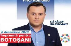 Cătălin Silegeanu Candidat Pro România la Camera Deputaților: Doar împreună putem schimba traiectoria județului Botoșani