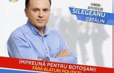 Cătălin Silegeanu: Botoșani trezește-te la realitate, până nu te trezești cu realitatea dură peste tine!