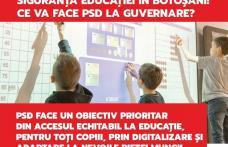 PNL a blocat accesul la educație pentru 45.000 de elevi, la fel cum a blocat dublarea alocațiilor a 80.000 de copii din Botoșani și majorarea salariil